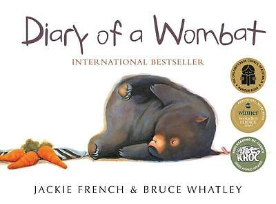 Diary of a Wombat by Jackie French (Paperback)