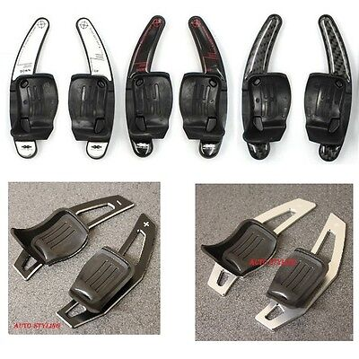New Paddle Shift Extensions VW DSG Gear Change Up Down Steering Wheel Shifters