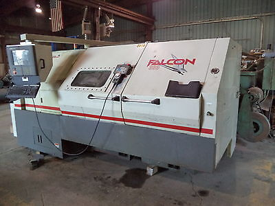"Cincinnati Falcon 300T-1000 CNC Turning Center (Lathe) 12"" Chuck, Acramatic 2100"