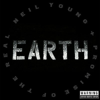 NEIL YOUNG  + THE PROMISE OF THE REAL EARTH 2CD ALBUM (Released June 24th 2016)