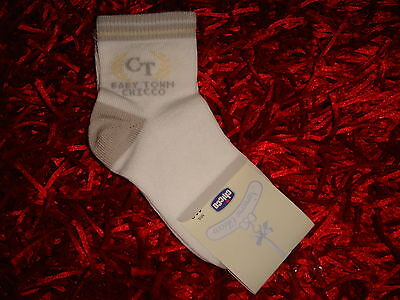 CHICCO - CHAUSSETTES BLANCHE ET GRISE (Collection NURSERIE CHICCO)