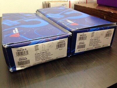 """2X Avery 3/4"""" 0.75"""" Fine Fabric Barb. Box of 5000. 10000 Total. Free Shipping."""