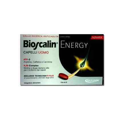 Bioscalin ENERGY 30 compresse + bioscalin energy shampo 100ml omaggio