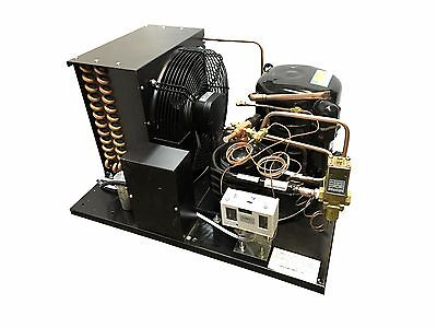 NEW Combo Air/Water Cooled WJ2440Z-2 Condensing Unit 1 HP, Low Temp, R404A, 220V