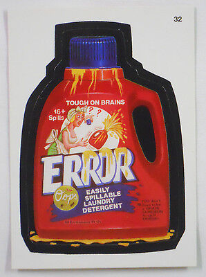2004 Topps Wacky Packages Trading Card #32-Error-Era
