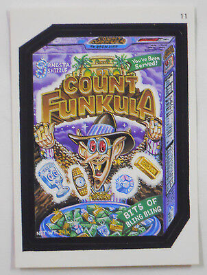 2005 Topps Wacky Packages Trading Card #11-Count Funkula-Count Chocula