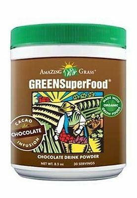 Amazing Grass Green SuperFood Chocolate 30 Servings