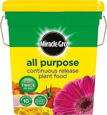 Scotts Miracle-Gro All Purpose Continuous Release Plant Food Tub, 2 kg