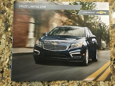 2016 Chevy CRUZE LIMITED 24-page Original Sales Brochure
