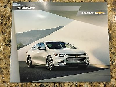 2016 Chevy MALIBU 32-page Original Sales Brochure