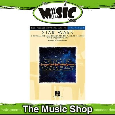 New Star Wars Piano Duet Music Book - Intermediate Piano Songs