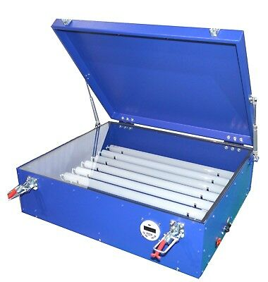 110V Screen Printing UV Exposure Unit Machine with 8 Tubes Digital timer 006002