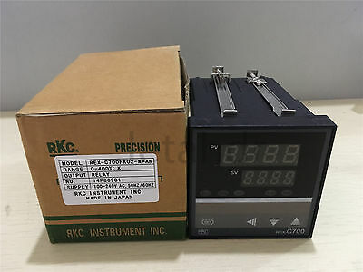 Digital PID Temperature Controller REX-C700 Thermocouple Input SSR/RELAY Output
