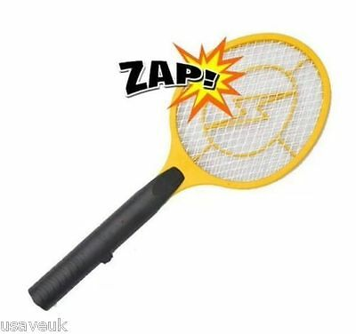 Zapper Electronic Insect Bug Fly Bee Wasp Swatter Zapper Killer Bat