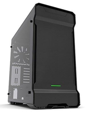 Phanteks Enthoo Evolv ATX Glass Black Midi Tower Gaming Case - USB 3.0