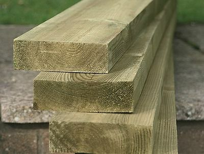 Wooden Fence Rail 3.0m - 4.8m FREE DELIVERY 50 MILES FROM BOSTON LINCOLNSHIRE