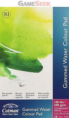 Winsor and Newton Cotman Watercolour Paper Gummed Pad