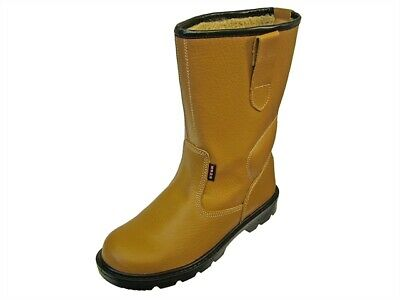 Scan SCAFWTEXAS8 Texas Dual Density Lined Rigger Boots Tan UK 8 Euro 42