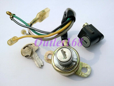 New Suzuki A50 A80 A100 AS50 AC100 AS100 B120 Ignition Switch SET Steering Lock