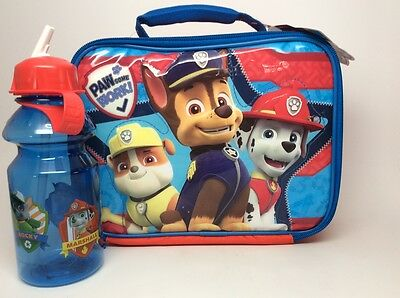 Paw Patrol Lunchbox Lunchbox By Thermos Co. Includes A Water Bottle!