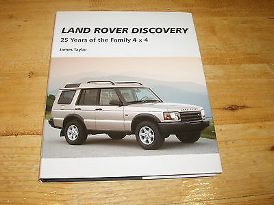Sale Book - Landrover Discovery-25 Years of a Family 4x4 by James Taylor.