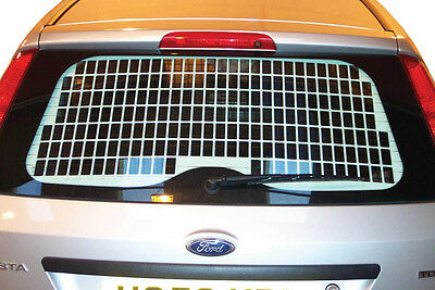 Van Guard Tailored Fit Rear Tailgate Window Security Grille Ford Fiesta (03-09)
