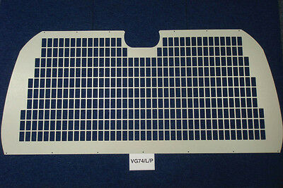 Van Guard Tailored Fit Rear Tailgate Window Security Grille Toyota HiAce (02+ )