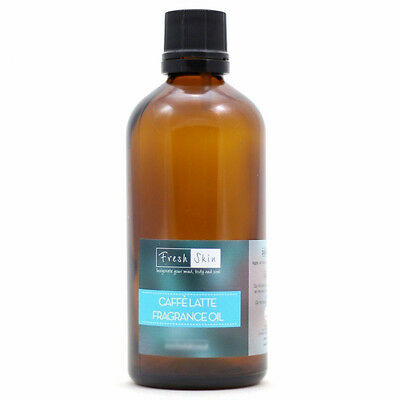 Caffe Latte Fragrance Oil - Cosmetic grade can be used in soaps, candles etc