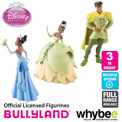 Official Bullyland Disney The Princess & The Frog Figurines  Cake Topper Figures