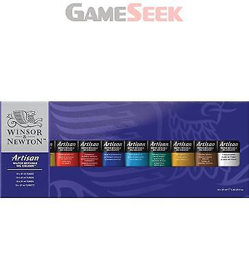 Winsor and Newton Artisan 37ml Water Mixable Oil Colour Tube (Set of 10)