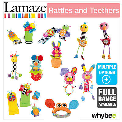 Tomy Lamaze Rattles & Teethers Baby Nursery Full Range! Play & Grow Soft Toys