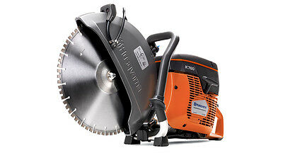 "Husqvarna K760 II 14"" Concrete Cutoff Saw + 10pk Diamond Blades + FREE SHIPPING"