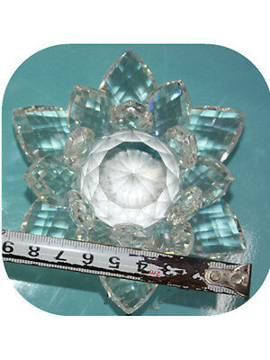 Decorative crystal Flower Display swarovski Crystal Element Giftware Valentines