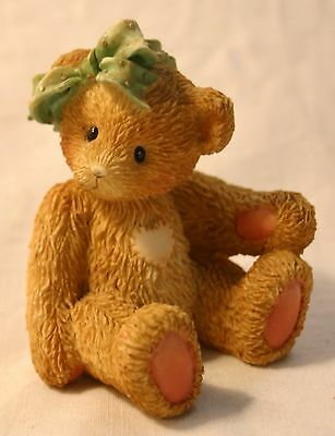 "1991 Cherished Teddies ""Jacki"" Figurine"