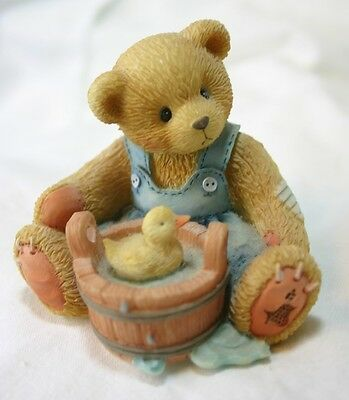CHERISHED TEDDIES Robert figurine