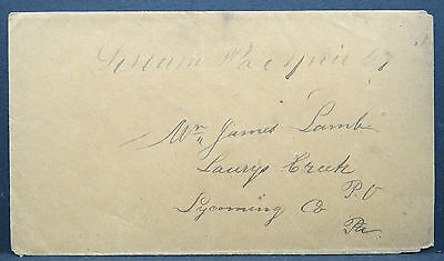 US Stampless Cover Vorphilatelie Brief (Lot# 9104