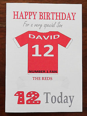 Personalised liverpool fan birthday card great large a5 size liverpool fan unofficial personalised football birthday card the reds bookmarktalkfo Choice Image