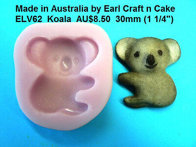 Koala Mould - Silicone Mould Cake Decorating Gum Paste Sugar topper