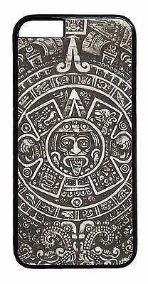 c9a7a666c Aztec Calendar Mayan Pattern Tribal Black Case Cover for iPhone 6/6s 6S Plus