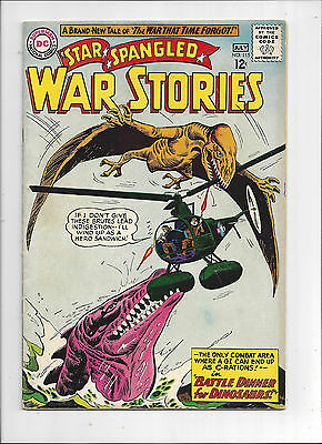 Star Spangled War Stories #115/Silver Age DC Comic Book/Dinosaur Cover/FN+