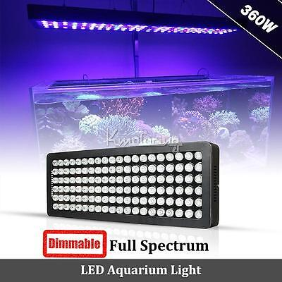 360W LED Aquarium Light Dimmable Spectrum For Coral Reef Fish Lamp 165W/180W