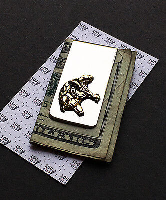 Grateful Dead - Terrapin Turtle Money Clip in Nickle Silver and Cast Brass