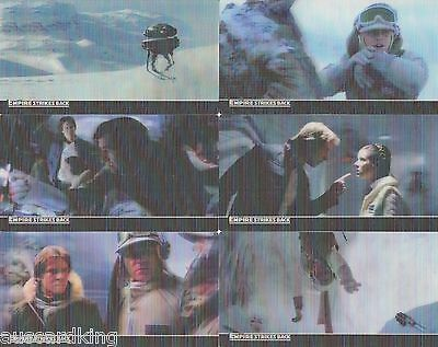 Star Wars - Empire Strikes Back - 3D Complete Card Set (48) - 2010 TOPPS - NM