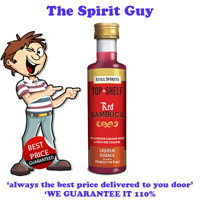 RED SAMBUCA LIQUEUR ESSENCE @ $6.49 each By STILL SPIRITS - 35136