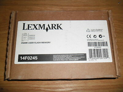 Lexmark 14f0245 256MB Flash Memory Card