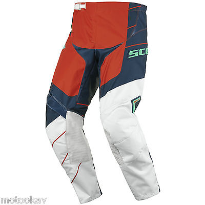 Pantalone SCOTT 350 Race blue/orange 30