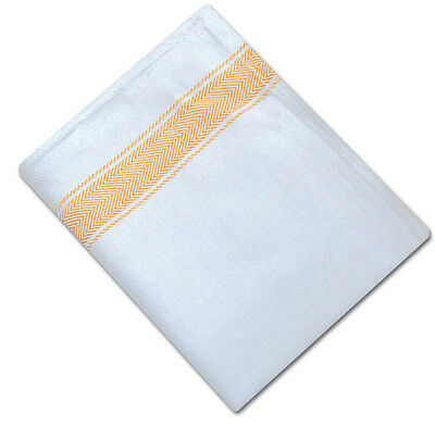 Pack Of 10 Herringbone Weave Kitchen Tea Towels Absorbent Cotton Catering Clohts