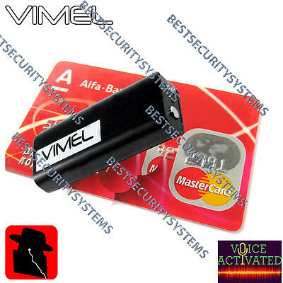 Listening Device Voice Recorder Vimel Audio Voice Activated No Spy Hidden