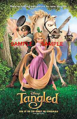 "Tangled ( 11"" x 17"" ) Movie Collector's Poster Print (T2) - B2G1F"
