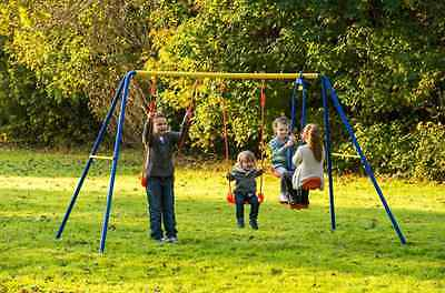 Garden Swing Set Childrens See Saw Glider Home Child Kid Outdoor Toy Play NEW